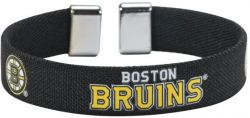 "BRUINS 1/2"" RIBBON BRACELET"