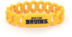 BRUINS SILICONE LINKS BRACELET