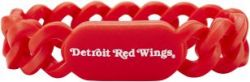 RED WINGS SILICONE LINKS BRACELET