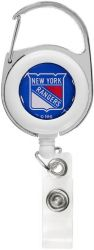 RANGERS DELUXE CLIP BADGE REEL