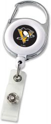 PENGUINS DELUXE CLIP BADGE REEL