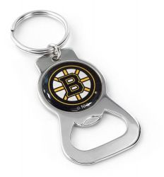 BRUINS BOTTLE OPENER KEYCHAIN