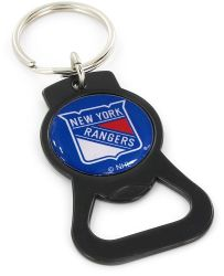 RANGERS (BLACK) BOTTLE OPENER KEYCHAIN