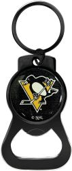 PENGUINS (BLACK) BOTTLE OPENER KEYCHAIN