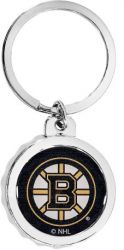 BRUINS BOTTLE CAP BOTTLE OPENER KEYCHAIN