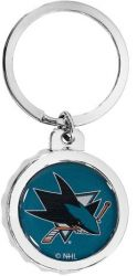 SHARKS BOTTLE CAP BOTTLE OPENER KEYCHAIN