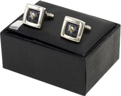 PENGUINS SQ CUFF LINKS