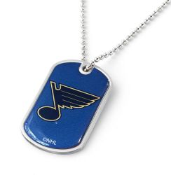 BLUES DOMED DOG TAG