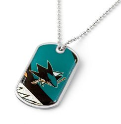 SHARKS DYNAMIC DOG TAG