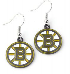BRUINS TEAM DANGLER EARRINGS