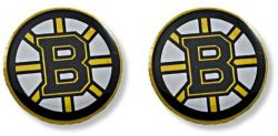 BRUINS TEAM POST EARRINGS