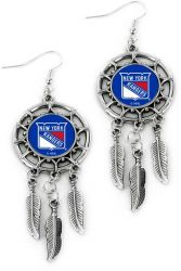 RANGERS DREAM CATCHER EARRINGS