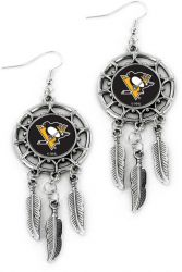 PENGUINS DREAM CATCHER EARRINGS