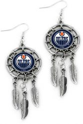 OILERS DREAM CATCHER EARRINGS