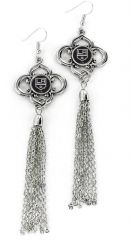 KINGS CHARMED TASSEL EARRINGS