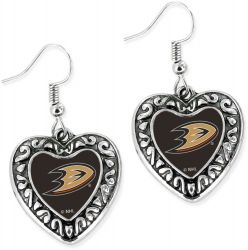 DUCKS HEART EARRINGS
