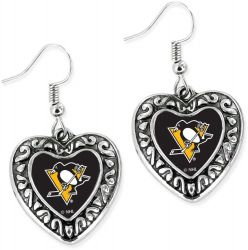 PENGUINS HEART EARRINGS