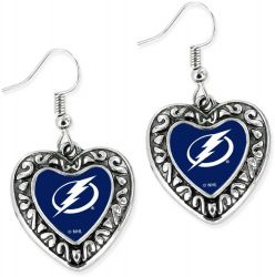 LIGHTNING HEART EARRINGS