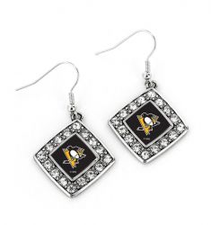 PENGUINS CRYSTAL DIAMOND EARRINGS
