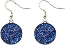 BLUES GLITTER DANGLER EARRINGS
