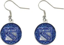 RANGERS GLITTER DANGLER EARRINGS