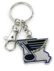 BLUES - STATE DESIGN HEAVYWEIGHT KEY CHAIN