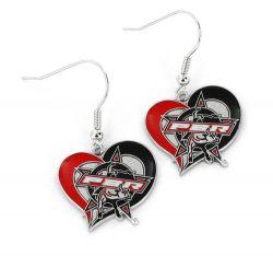 PBR SWIRL HEART EARRINGS