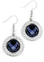 US AIR FORCE DIMPLE EARRINGS
