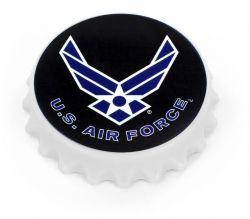 US AIR FORCE BOTTLE CAP OPENER MAGNET