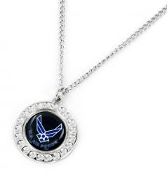 US AIR FORCE DIMPLE NECKLACE