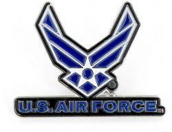 US AIR FORCE LOGO PIN