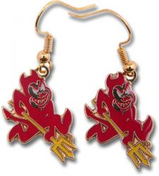 ARIZONA STATE LOGO EARRINGS