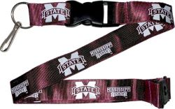 MISSISSIPPI STATE (MAROON) LANYARD