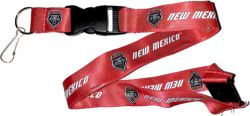 NEW MEXICO (RED) TEAM LANYARD