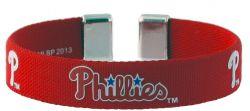 "PHILLIES 1/2"" RIBBON BRACELET"