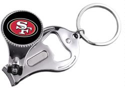 49ERS MULTI-FUNCTION KEYCHAIN