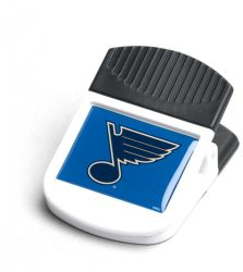 BLUES MAGNETIC RECTANGULAR CHIP CLIP